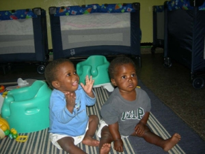 Joseph and Bennet together at Seeds of Hope!