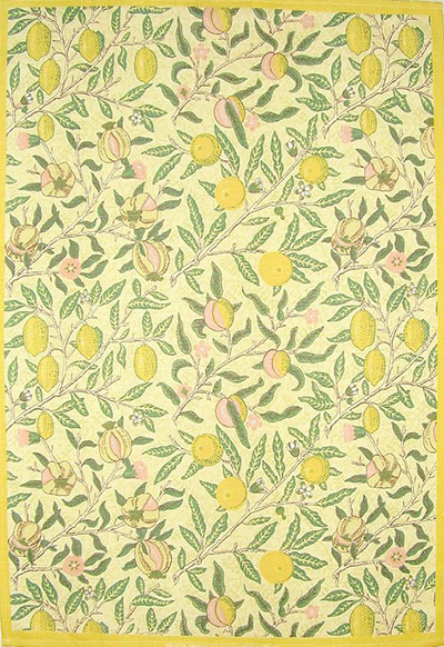 Fruits Minor tea towel by William Morris