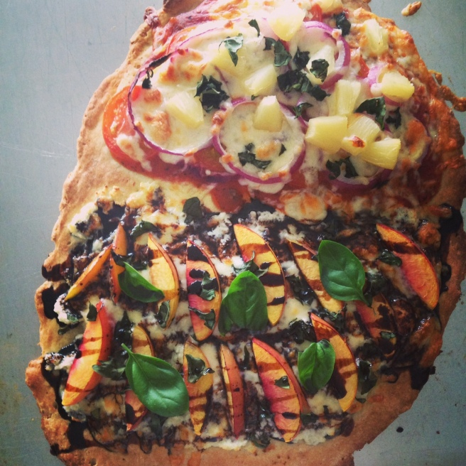 Homemade pizza is delicious and nutritious in a lunch and a fraction of the price of  a pre-packaged lunchable!
